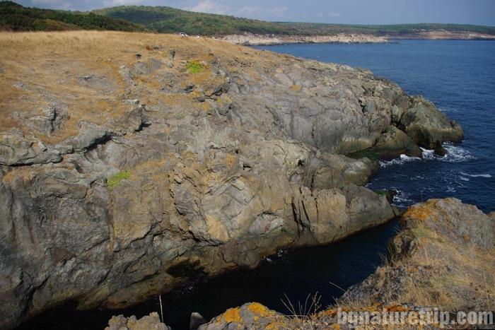 "A fjord at Cape ""Maslen nos"", Primorsko, Bulgaria."