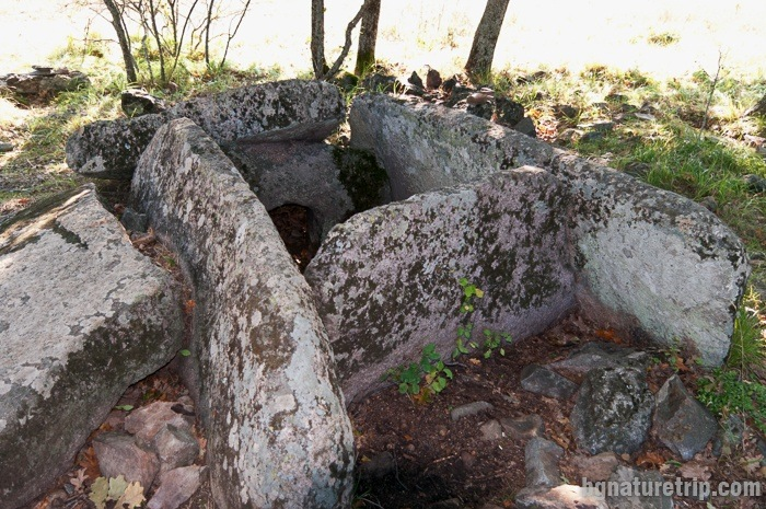 "Dolmen ""Zmeiuva kashta"" near to the strecth for Beglik Tash"