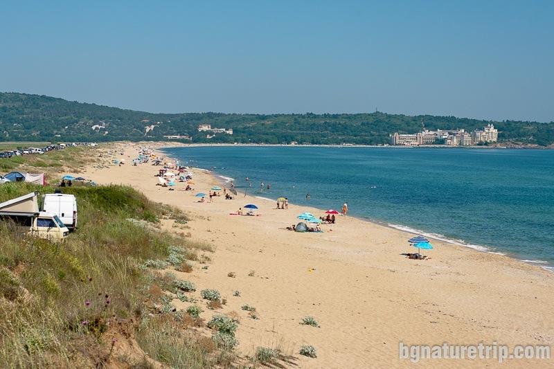 """The """"Chauffeurs' Beach"""" - general view"""