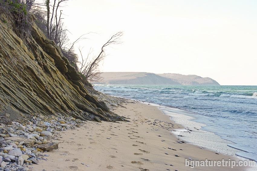 The end of Irakli Beach