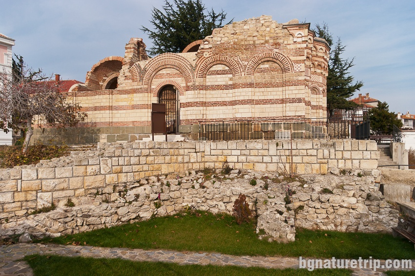 The Church of St. John Aliturgetus. Nessebar