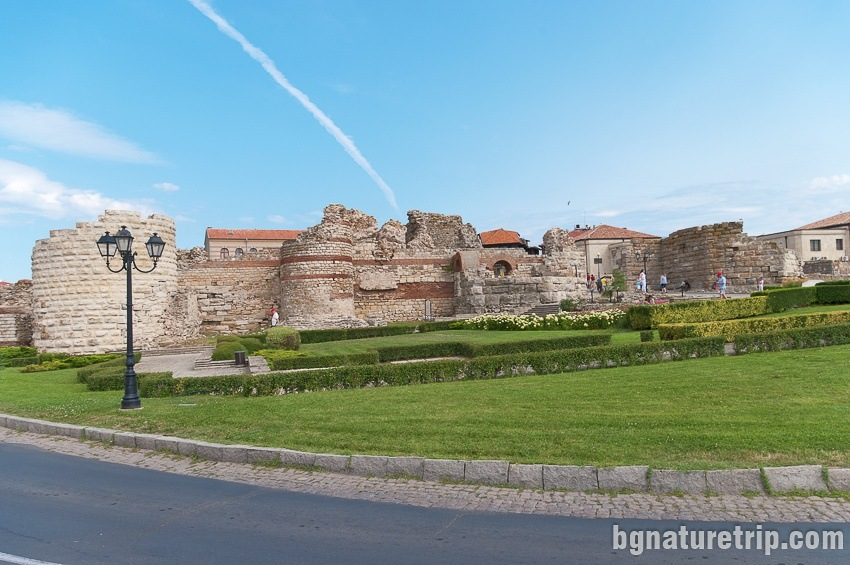 Another view of the fortress of Nessebar