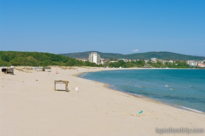 Another view of the South Beach of Primorsko