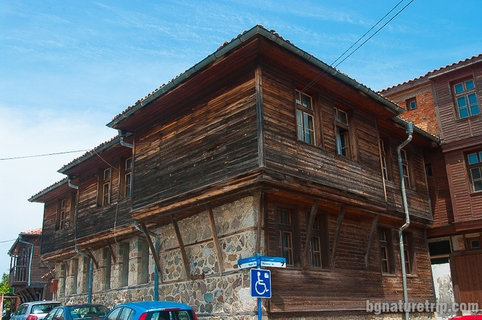 Old houses on the peninsula of Skamnia, Sozopol