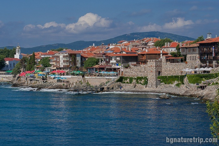 Southern fortress wall, Sozopol