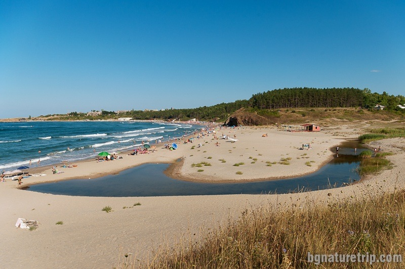 The north part of Ahtopol Beach, Black Sea, Bulgaria