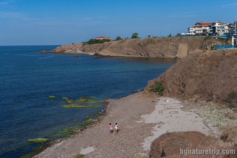 The Ahtopol coastline