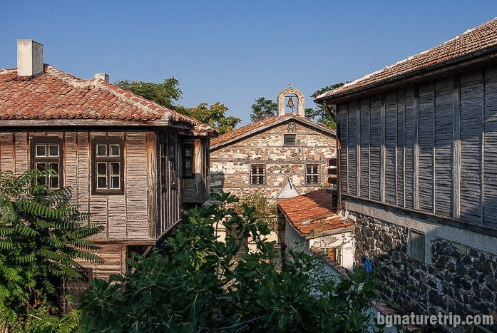 "The ""Old Houses"" architectural reserve in the ""Old Town"" of Pomorie"