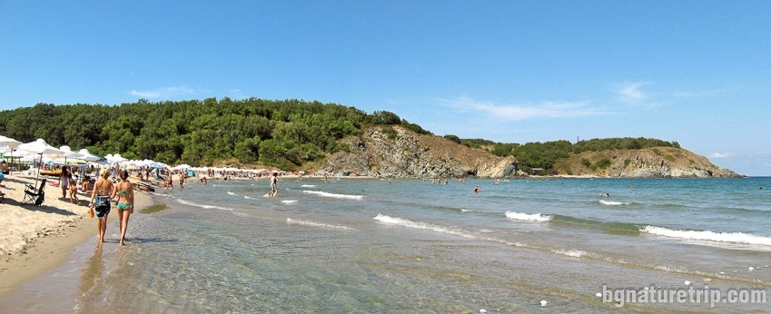Silistar Beach in summer