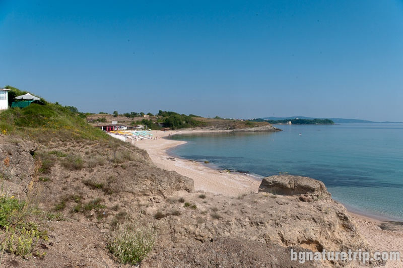Yug camping nearby Kiten, Black Sea