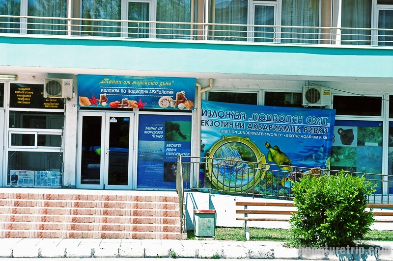 An exhibition dedicated to underwater archaeology in Kiten