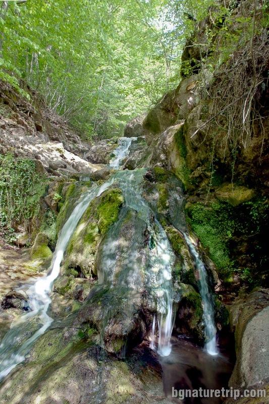 """Raykov Vir"" waterfall close up"