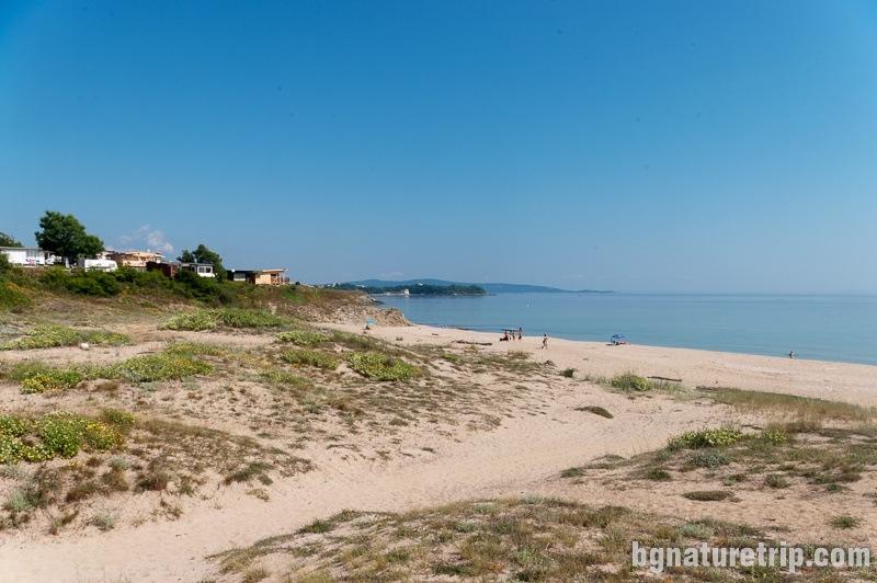 """The """"Coral"""" beach nearby Lozenets, Black Sea Coast"""