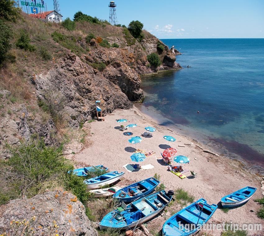 Rezovo's beach