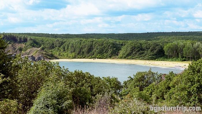 A look at Silistar Beach from far away