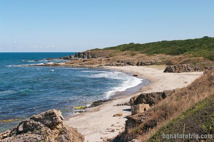 "The wild beach ""Listi"", between SInemorets and Silistar Beach"